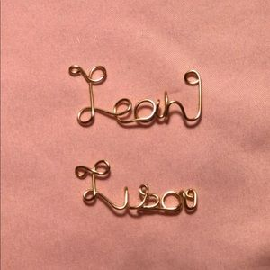 Jewelry - Custom Name Necklace